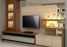 DIY TV Stand Ideas You Can Build Right Now – Architecture Art. Flat screen TV should have certain stands to be created and displayed on. These can be built or create yourself depending on the specific. Tv Cabinet Design, Tv Wall Design, Lcd Panel Design, Tv Unit Furniture Design, Lcd Units, Modern Tv Wall Units, Living Room Tv Unit Designs, Bedroom False Ceiling Design, Tv Wall Decor