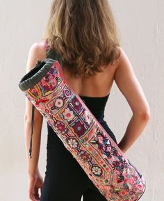 'KUKUMA' YOGA MAT BAG | NAGNATA http://whymattress.com/the-ultimate-yoga-guide/