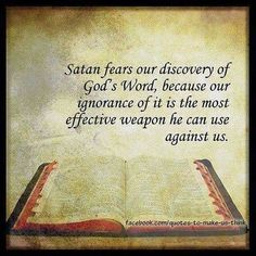 Do Not Be Deceived by Way Of FALSE Doctrine Taught In the Religious System  Do read the Word indeed! Keep in mind though, even Satan knows God's word, so get as sharp as a double edged sword by armoring up AND getting close to Our God (Ephesians 6:10-18). Learn who you really are and what God is asking you to do. Read more http://www.crownhimkingministries.org/blog/do-not-be-deceived-by-way-of-false-doctrine-taught-in-the-religious-system
