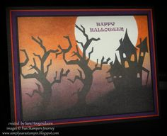 Happy Halloween! with Fun Stampers Journey by shoogendoorn - Cards and Paper Crafts at Splitcoaststampers