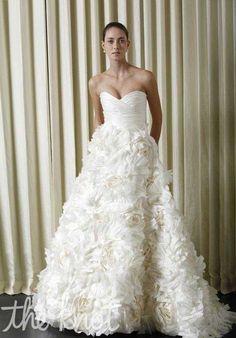 Monique Lhuillier Sunday Rose Wedding Dress photo