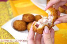 Sitenemos que destacar uno de los aperitivos más típicos de la cocina española, podríamos mencionarlas croquetas. Su tradición viene como