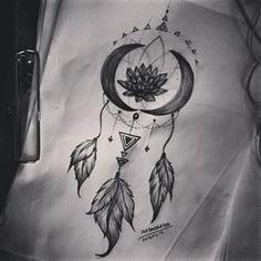 lotus moon tattoo - Pesquisa Google