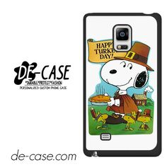 Snoopy Happy Turkey Day DEAL-9759 Samsung Phonecase Cover For Samsung Galaxy Note Edge