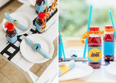 Ein süßer Kindergeburtstag mit dem Motto Zug | mummyandmini.com kidsparty train theme Fotos: Erika Martins