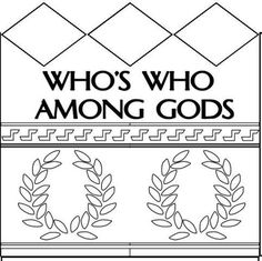 Dynamic 2 Moms - Ancient Civilizations  Greek and Roman Gods lapbook activity to memorize names of mythological gods & goddesses