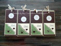 Kleine Aufmerksamkeit - Schokoladenlift mit Stampin Up