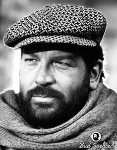 Photographic Print: Bud Spencer in Even Angels Eat Beans : Retro Hits, Bud Spencer, Terence Hill, Film Movie, Movies, Cinema, Olivia De Havilland, Hollywood, Tropical Art