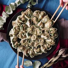 These pork dumplings are little pockets of pure joy. Flavorful and tender, who knew this appetizer could be so easy to dish out?