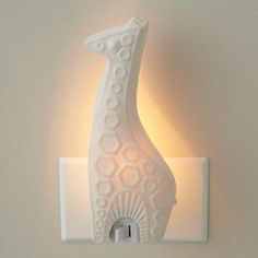 Giraffe night light!! sooo cute!!! not that i really need it for my kids but its cute!! :)