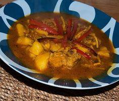 Cazuela de fideos con costilla #recetas #gastronomia