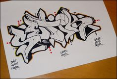 DeviantArt: More Like alphabet blackbook battle by Graffiti Words, Graffiti Pictures, Graffiti Lettering Fonts, Graffiti Writing, Best Graffiti, Graffiti Tagging, Graffiti Alphabet, Graffiti Styles, Street Art Graffiti