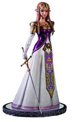 AmazonSmile: First 4 Figures The Legend of Zelda: Twilight Princess: Princess Zelda Master Arts Center Piece Statue (1:4 Scale): Toys & Games