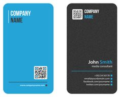 vertical business cards - Google Search