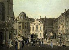 Kar - Vienna , St.Michaels Square