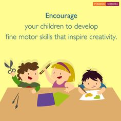 Help your child master fine-motor skills or the use of hands. When combined with increasing hand-eye coordination, fine motor skills open new doors to exploration, learning, and creative expression. #LearningMadeEasy