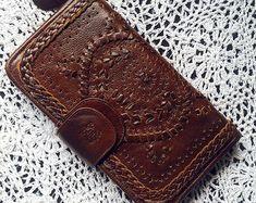IBIZA. Womens wallet / brown leather wallet / wallets by BaliELF
