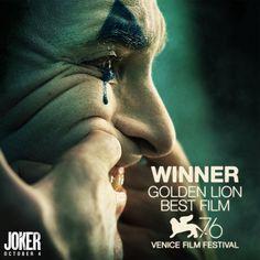 """ wins the Golden Lion for Best Film at Michael Keaton, Joaquin Phoenix, Christian Bale, Ben Affleck, Recital, Jared Leto, Movie Blog, Movie Tv, Swamp Thing Tv"
