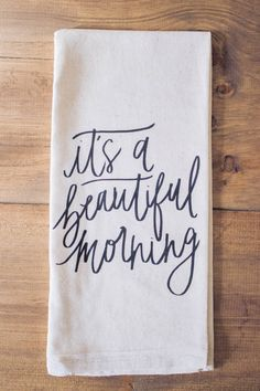 Beautiful tea towel for any home with its chic yet homey style.