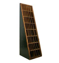Hamilton Triangular Type Cabinet W/ Green Sides C1920
