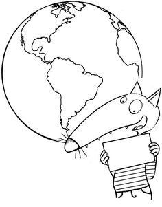 Cowl web page of the pocket book of life Coloring For Kids, Coloring Pages, Europa Tour, Wolf World, Wolf Book, Teaching Schools, 7 Continents, Boy Christening, Teaching French