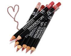 WE CARE ICON Magnetic Lips -huultenrajauskynä  Viisi sävyä. Lip Care, Lip Liner, Magnets, Makeup Looks, Make Up, Lips, Maquillaje, Maquiagem, Make Up Looks