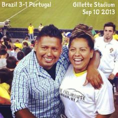 Where in the world is the Fieldhouse? With Juan Carlos, Neymar, Yessica, & Cristiano in Boston, MA. ¡Muchas gracias!
