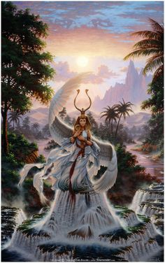 Isis ~ An Egyptian Goddess, she was worshipped as the ideal mother and wife as well as the patroness of nature and magic. She was the friend of slaves, sinners, artisans, the downtrodden, but she also listened to the prayers of the wealthy, maidens, aristocrats, and rulers. http://universal-wellness.blogspot.com/2015/02/baring-my-soul-and-planting-dream.html