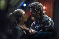 The 100 S03E09 Stealing Fire - Henry Ian Cusick, Marcus Kane, Abby Griffin - Kane better not die...