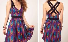 Colourful Aztec