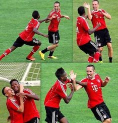 Ribery + Alaba - FC Bayern