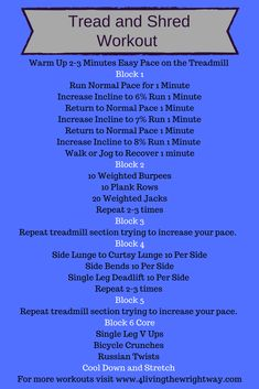 Tread and Shred Workout Tread and Shred Workout, Strength Training and Dumbbell Workout LADY WARRIOR – Warrior Weeks to Shredded: Max? Shred Workout, Workout Warm Up, Dumbbell Workout, Get Shredded Workout, Treadmill Workouts, Running Workouts, Circuit Workouts, Workout Routines, Gym Cardio Workout