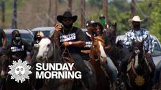 Black cowboys saddle up Rodeo Rider, Wild West Show, Black Cowboys, Cbs News, Tv Videos, Exotic Pets, Black History, Mammals, Documentaries