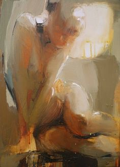 Iryna Yermolova (Ukrainian, b. 1978, Ukraine, resides Dorchester, Dorset, UK) - Nude Paintings: Oil