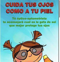 CENTRO ÓPTICO Juan Ramón TENA:  Cuida tus ojos como a tu piel.