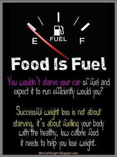 Eat to live, just don't live to eat