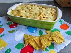 Mijn mixed kitchen: Mexicaanse ovenschotel met kip, groenten, tortillachips en kaas