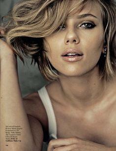 Scarlett Johansson For Glamour Italy August 2013