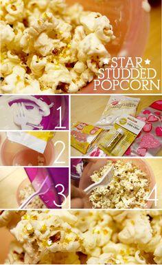 Star Studded Popcorn
