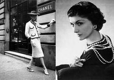 Frases de Coco Chanel Uma mulher precisa de duas coisas: Um vestido Preto E um homem á quem ame