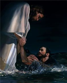"When Peter saw the Savior walking on the water he cried out, ""Lord…bid me come unto thee.""<br><br> ""Come."" was all He said.<br><br>Filled with faith, Peter stepped from the safety of the boat on to the stormy sea. But as the winds picked up and the waves grew stronger Peter's faith turned to fear. As he began to sink, Peter cried out, ""Lord, save me.""<br><br>Two thousand years later, Christ is still calling to us. As we step from the safety of self-reliance on to the stormy seas of…"