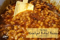 the best crockpot baked beans