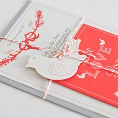 50 love birds wedding invitations by paper dates | notonthehighstreet.com
