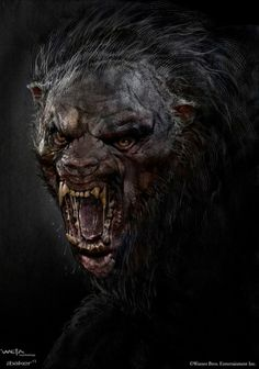 Beorn - The Hobbit_The Desolation of Smaug_Concept Art by Andrew Baker Dark Creatures, Creatures Of The Night, Arte Horror, Horror Art, Mythological Creatures, Mythical Creatures, Dark Fantasy Art, Dark Art, Fantasy Star
