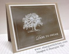 Lovely as a Tree, Loving Thoughts, Chalkboard Technique, Stampin' Up!, stampwithbrian.com