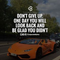 Don't give up. One day you will look back and be glad you didn't. - Learn how I made it to 100K in one months with e-commerce!