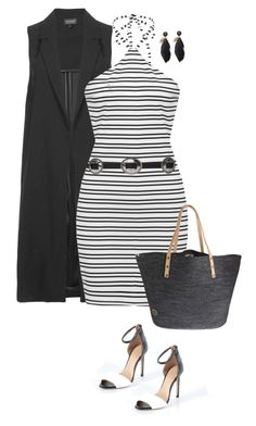 """""""Untitled #6742"""" by lisa-holt ❤ liked on Polyvore featuring Topshop, WearAll and Zara"""