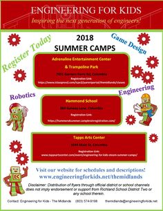 Engineering Camps for kids