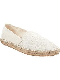 Womens Lacey Espadrilles