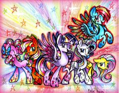 Rainbow Power by frostykat13.deviantart.com on @deviantART
